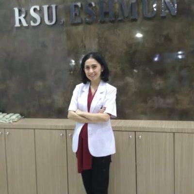 dr. Riana Novatina Endamia Pangaribuan, Sp.D.V